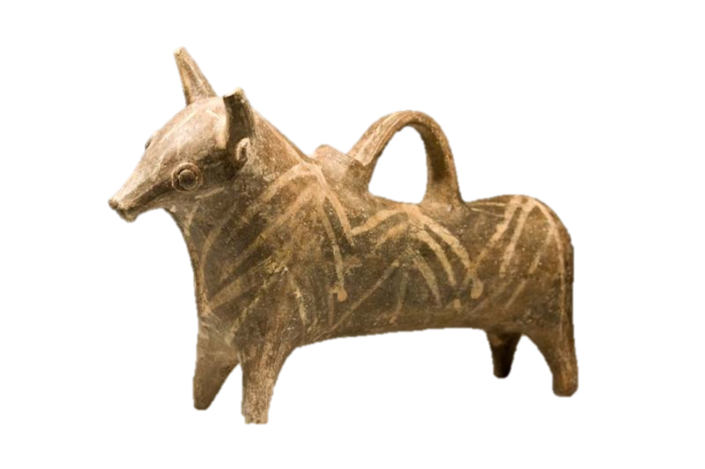 Complete Cypriot Bull Vessel/Figurine - not from Burna, for comparison