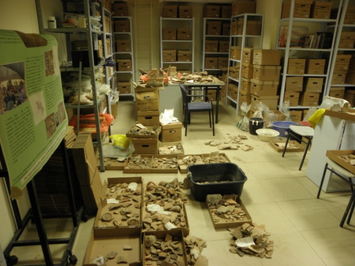 The Restoration Process from inside the Burna Lab at Ariel University