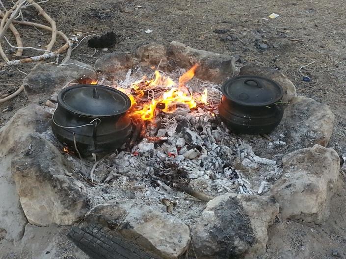 Poyke - campfire stew!