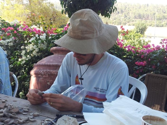 Jeremy registering