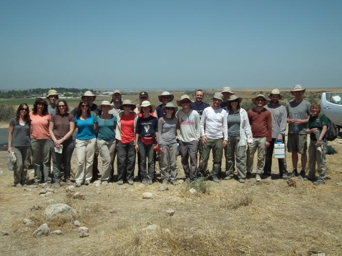 2013 Tel Burna Team - Week 1