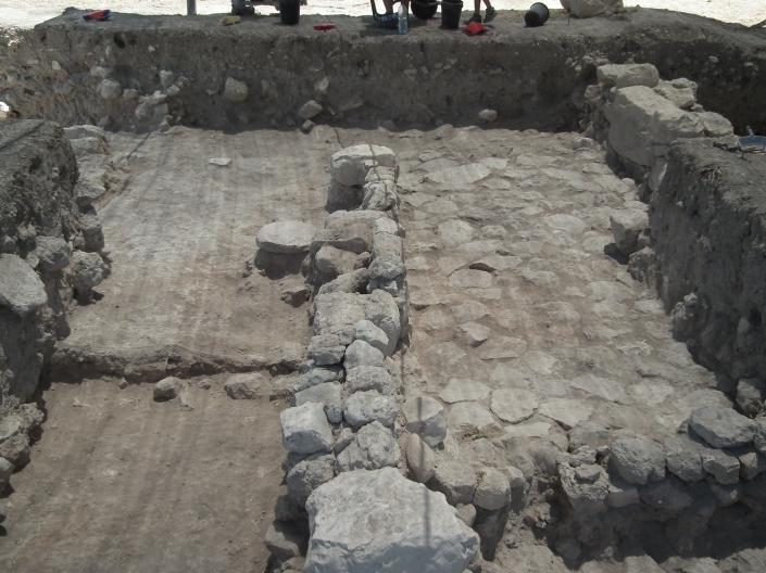 Beautiful Iron Age IIB pavement