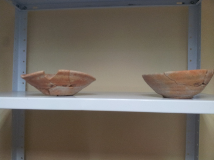 Canaanite Bowls after Restoration