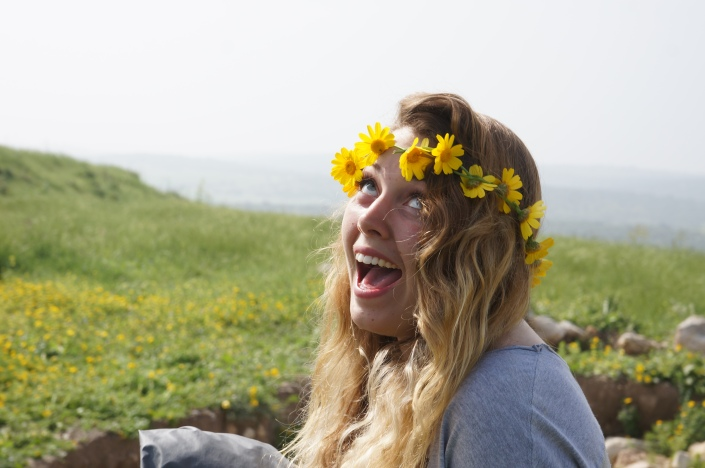 """if you're going to Tel Burna, be sure to wear some flowers in your hair"""